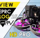 Test GEPRC CineLog 25 HD Pro