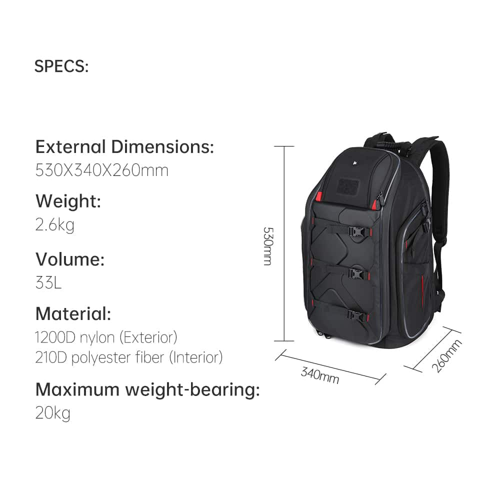 iFlight backpack dimensions