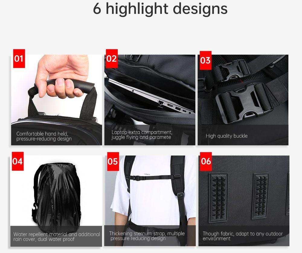 iFlight backpack design