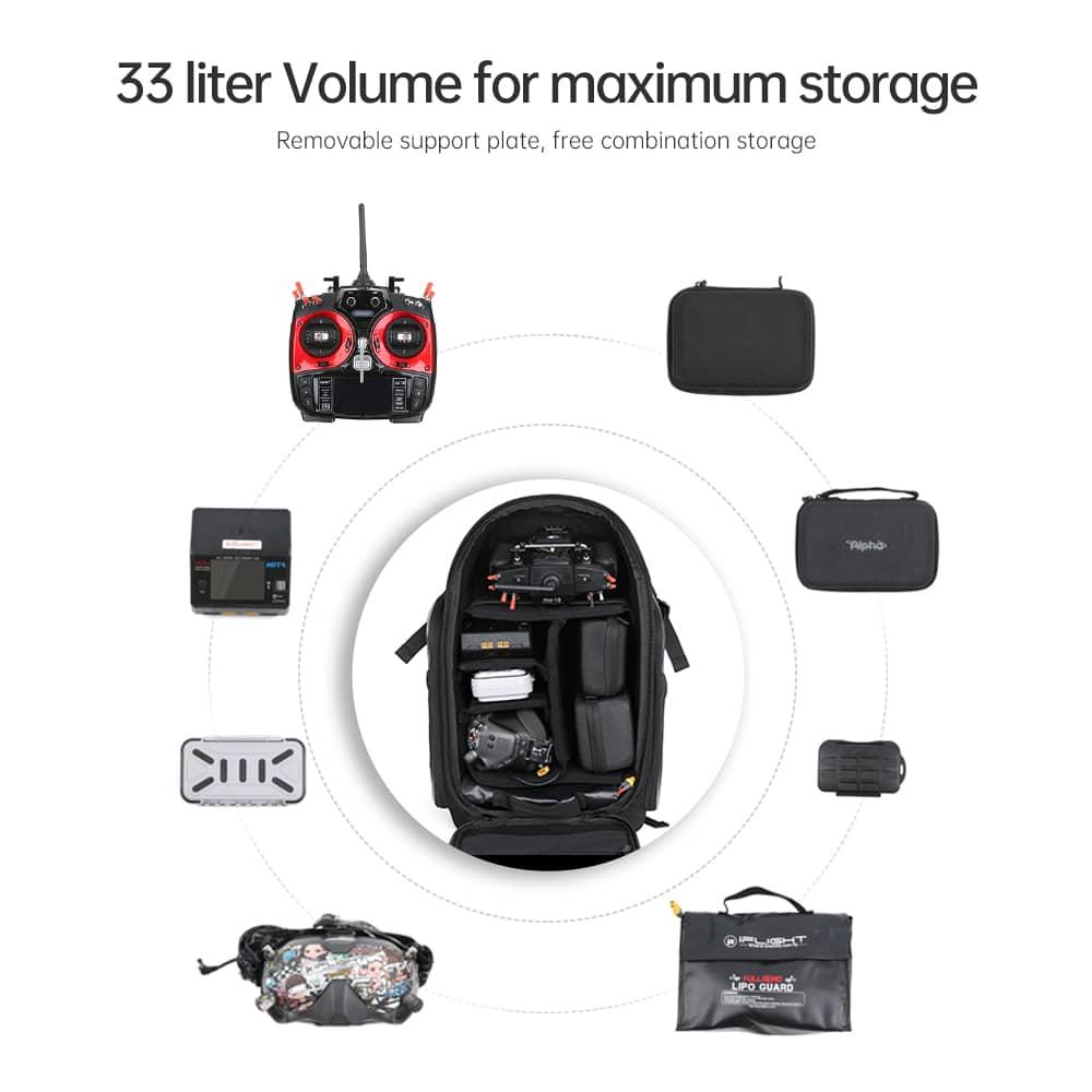 iFlight backpack capacité