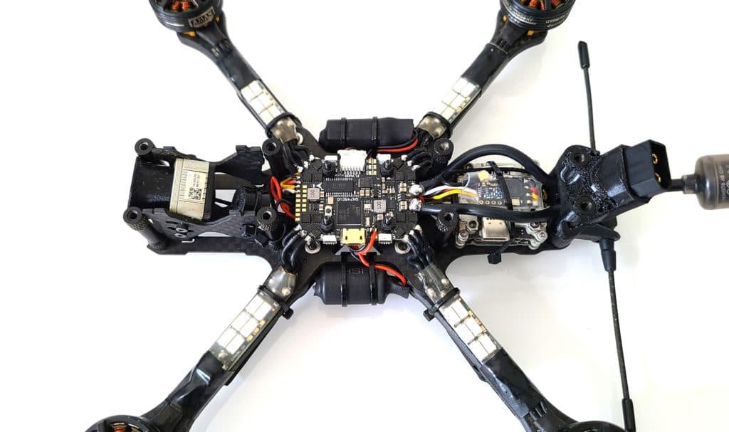 montage condo drone fpv