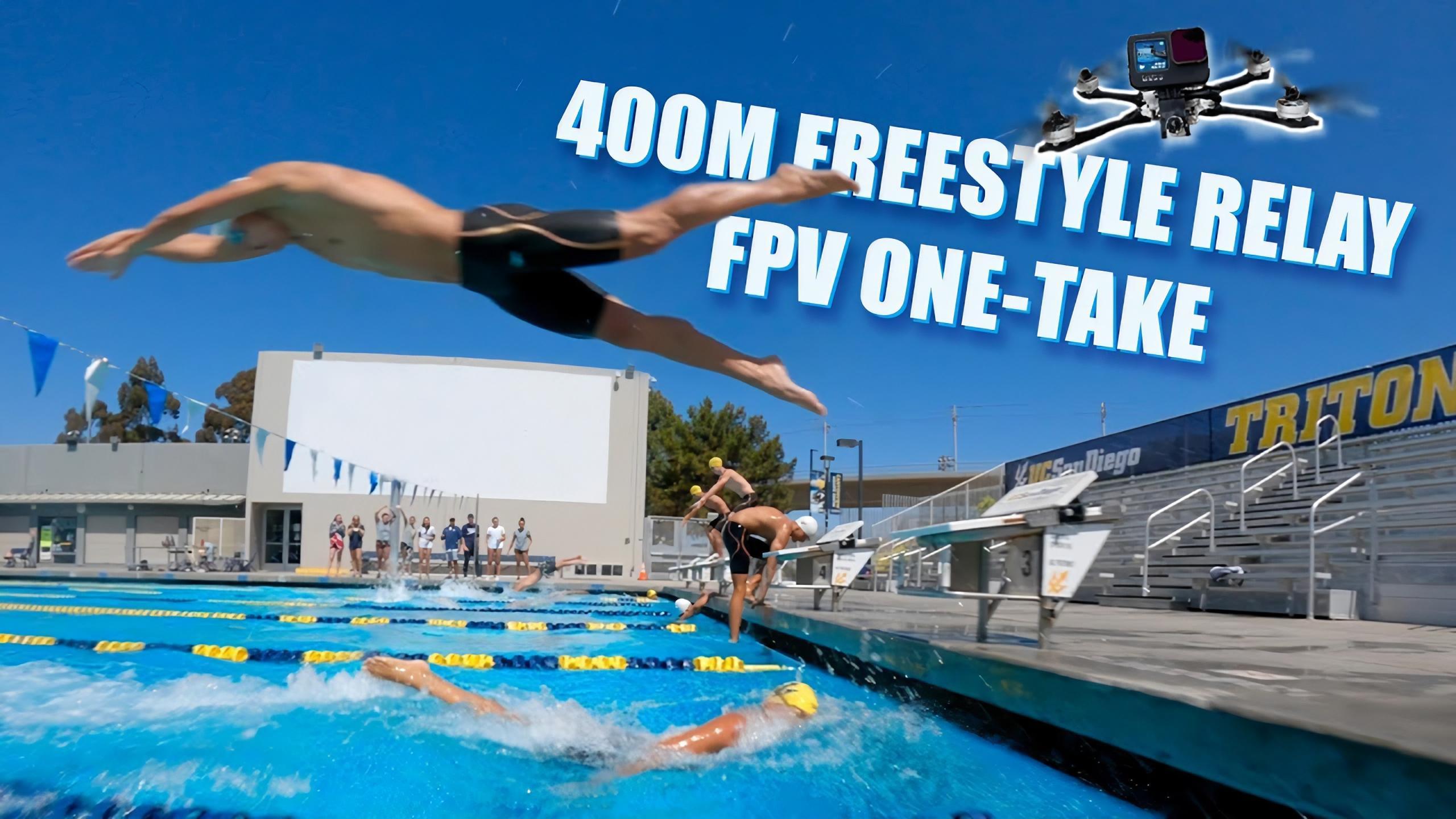 drone fpv étanche piscine
